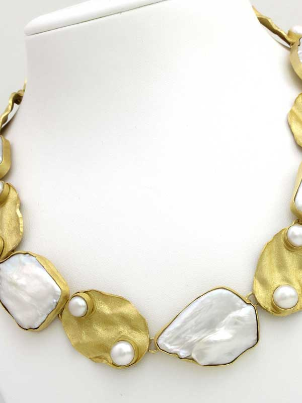 Collar en Plata 925 con Perlas Cultivadas de PerlArt Majorca Pearls